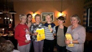 von links: Karin Braunsdorf, Kerstin Reiprecht, Uta Bohn, Katrin Sonnenberg, Nicole Amling, Petra Westphal